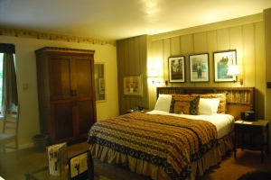 Our room at the Ahwahnee